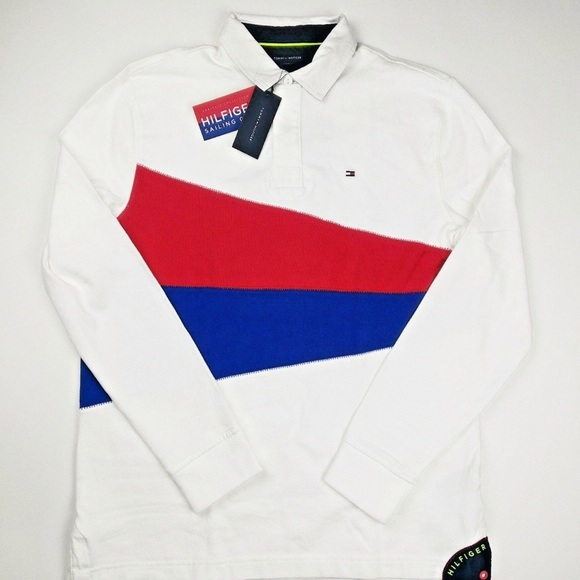 4bd4aef67c3 Tommy Hilfiger Colorblock Long Sleeve Polo. M_5ae6176d50687c02a4c16feb